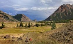 Алтайские пирамиды