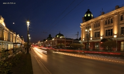 Любинский проспект в Омске
