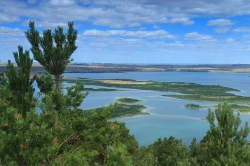 Вид на озеро Большое Чебачье
