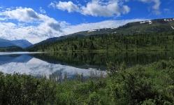Улаганские озера. Кок-кель