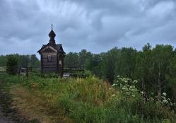 Часовня в Большекулачье, Омская область