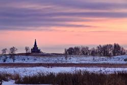 Храм в Большекулачье Омская область