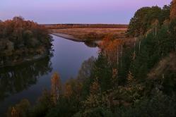 Суперки.  д. Окунево, Омская область, река Тара