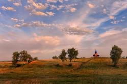 Дорога к Храму. Омская область, Омский район, д. Большекулачье