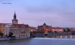 Раннее утро В Праге