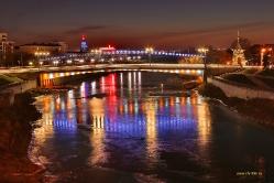 Юбилейный мост в Омске
