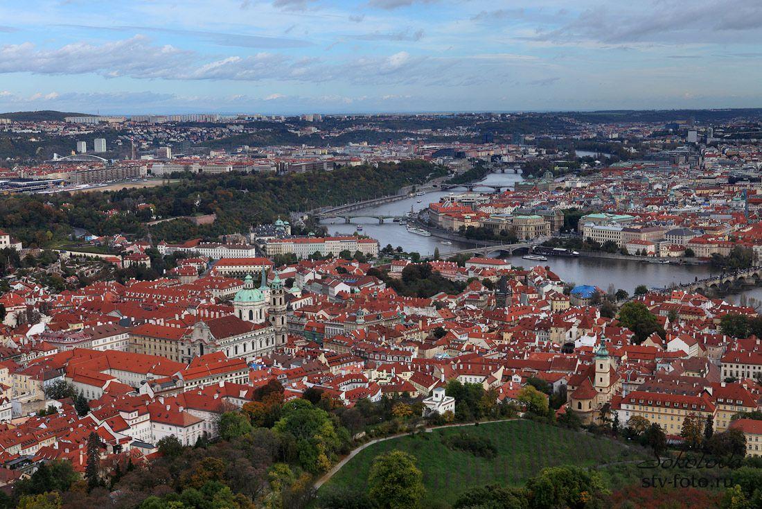 Город красных крыш